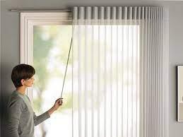 vertical blinds sliding patio door