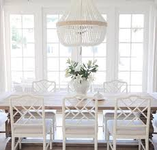 Ro Sham beaux chandelier, beaded chandelier dining room over dining ...