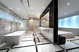 master bedroom with open bathroom. Master Bedroom With Open Bathroom Cove Concept Home Contemporary S