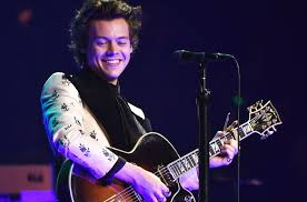 harry styles serenades expecting couple with round of happy birthday at detroit concert