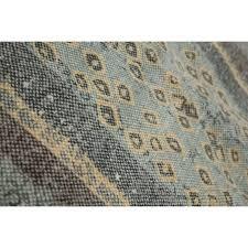 designer rugs 100 cotton aztec rug multi colour