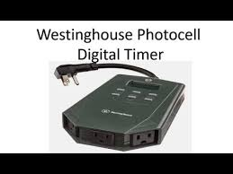 westinghouse automatic electric timer