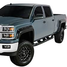 Silverado Rivet Style Fender Flares Set 6.6'/8.0' Bed Length ...