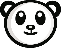 Panda Logo PNG Transparent & SVG Vector - Freebie Supply