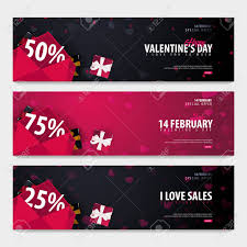 Valentines Flyers Set Of Valentines Day Sale Backgrounds Wallpaper Flyers Invitation