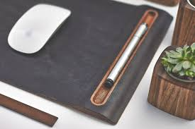 leather mousemat from grovemade s desk colelction