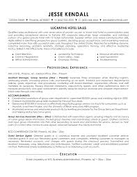 Sales Manager Resume Examples hotel sales resumes Jcmanagementco 8