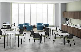 adorable office decorating ideas shape. Office:Adorable Office Break Room Design With Round Shape Stripped Rug And Cool Grey Chair Adorable Decorating Ideas