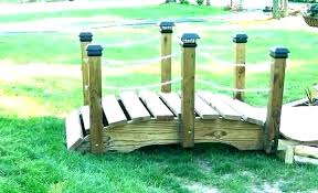 wooden garden bridge wooden garden bridge plans