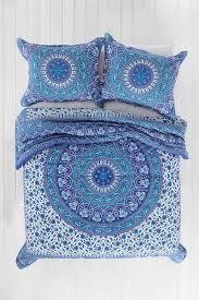 best  bohemian bedding sets ideas on pinterest  blue bed
