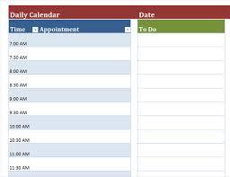 Daily Picture Calendar Blank Daily Calendar