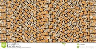 Sidewalk texture seamless Paving Cobblestone Arched Pavement Road With Edge Courses At The Sidewalk Seamless Tileable Repeating 3d Rendering Texture Dreamstimecom Road Curved Cobblestone Texture 014 Stock Illustration