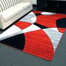 red and grey rug design abstract wave red area rug 5 and grey rugs gray beige