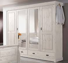 Massivholz Schlafzimmer Komplett Set Kiefer Massiv Weiß Neu Landhaus