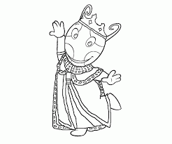 Small Picture Backyardigans Coloring Pages To Print Coloring Home