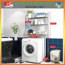 AI RẺ HƠN SHOP HOÀN TIỀN ] Kệ Máy Giặt , Kệ Bồn Cầu 2 Tầng Inox Cửa Ngang ,  Cửa Đứng Siêu Tiện Lợi giá cạnh tranh