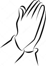 Biddende Handen Kleurplaat Handen Gevouwen Bidden Bijbellezen