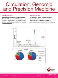 Circulation Genomic And Precision Medicine Ahaasa Journals