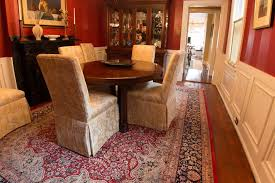 persian in dining room