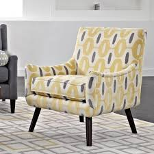 accent chairs for living room designs yellow chair bright cabinet
