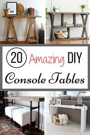 tired of looking at console tables and not finding the right one for your space