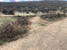 Ada/Eagle Bike Park - The good news for the day. The trails at the Ada/Eagle  Bike Park are dry enough to ride. You may encounter a puddle here and there  but just