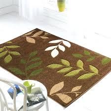 brown kitchen rugs cream kitchen rugs green cream and brown kitchens manor brown green cream leaf