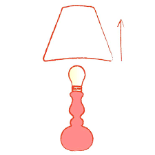 how to measure a lamp shade remove the lamp shade measure lamp shade replacement
