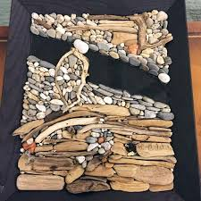 one of the pieces of stone wall art constructed by joe norton who claims he s not an artist courtesy of joe norton on stone wall artist with joe norton builds walls and art boothbay register