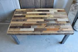 diy pallet reclaimed coffee table pallet furniture plans