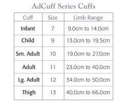 Adc 830 7ibk Adcuff Latex Free Reusable Cuff