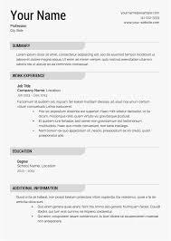 Resume Builder For Free New Free Resume Builder Online Best Of Free Line Resume Template Best