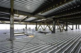 Big Metal Deck Framing