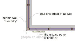 glass curtain wall facade panel alucobond aluminium composite panel