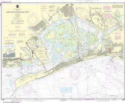 Noaa Nautical Chart 12350 Jamaica Bay And Rockaway Inlet