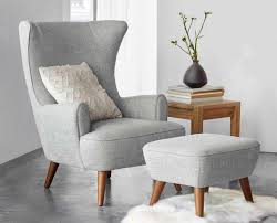 white slipcover chair and ottoman plastic armchairs club with armchair dining chairs for living room free