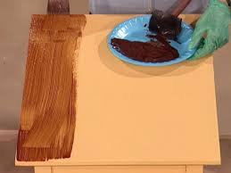 Wood Stain Painting Techniques How To Paint A Faux Wood Grain How Tos Diy