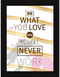 Motivational Posters For Room And Home Decor Do What You Love Simple Posters With Love Quotes