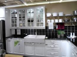 simple kitchen design with white apron front farmhouse sink ikea
