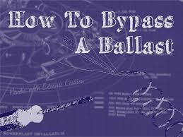 how to bypass a ballast — 1000bulbs Ge Hid Ballast Wiring Diagram Bodine B50 Emergency