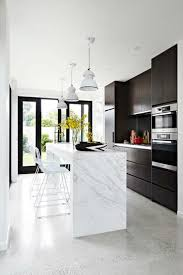 Black And White Marble Kitchen Decor