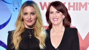 Megan Mullally Megan Mullally Says Madonna Didnt Know The Will Grace Casts