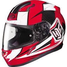 Hjc Cl 17 Striker Full Face Helmet Red White Black Xxl