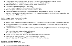 Dentist Resume Dentist Sample Resume Sample Resume In Usa Image