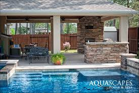 backyard design features by aquascapes