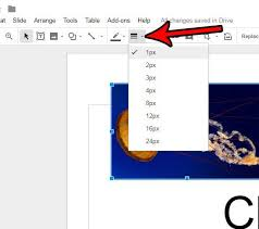 how to put a border around pictures in google slides