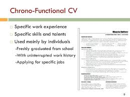 Chrono Functional Resume Template Free Combination Resume Template ...