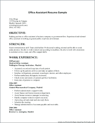 Office Assistant Duties On Resume Job Description Medical Administrative Assistant