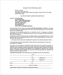 Consulting Proposal Template Template Business