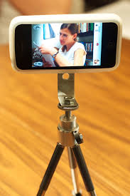 iphone 4 in diy tripod case adapter